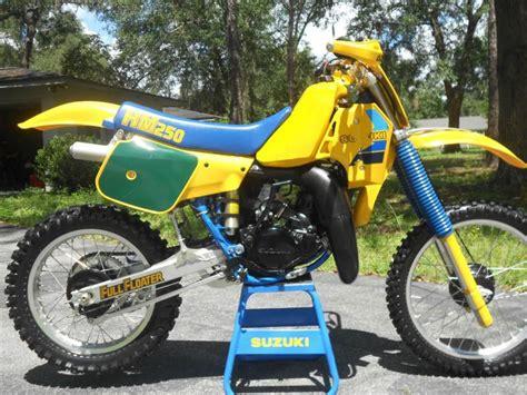 1984 Suzuki Rm250 Suzuki Rm250 1984 Vintage Mx Motorcycle For Sale On 2040 Motos