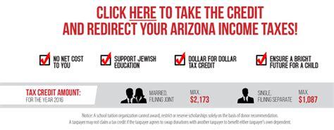 Tax Credit Form Gilbert Schools Az School Tax Credit Chabad Lubavitch Of Arizona
