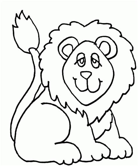 lion coloring pages coloring lab cute lion coloring page coloring home