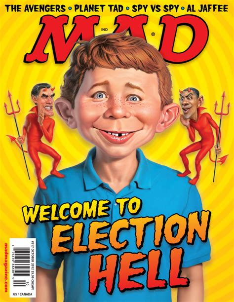 mad magazine obama cover exclusive mad magazine s election hell huffpost