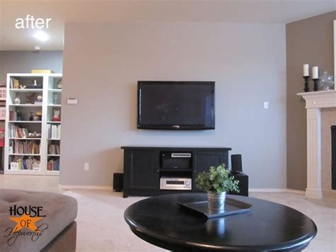 how high to mount 60 tv on wall mounting your tv to the wall and hiding all the cords