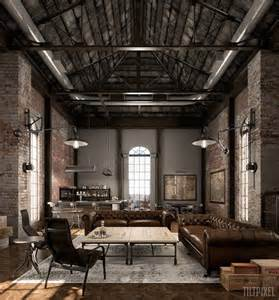 Cheap House Furniture by Best 25 Industrial Loft Apartment Ideas On Pinterest