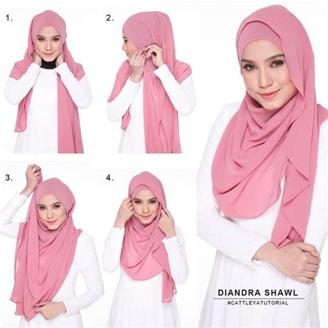 tutorial hijab pasmina volume 25 kreasi tutorial hijab pashmina simple terbaru 2018