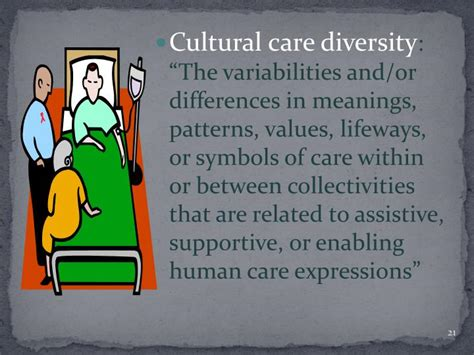 cultural care diversity and universality ppt madeleine leininger culture care theory of diversity