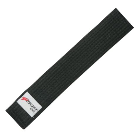 high quality deluxe 100 cotton 2 inch wide taekwondo