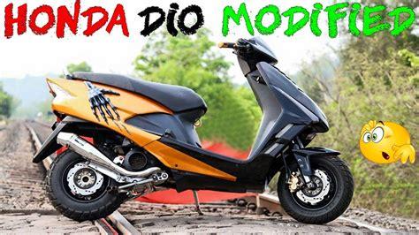 Modification Honda Dio by Honda Dio Modification Motavera