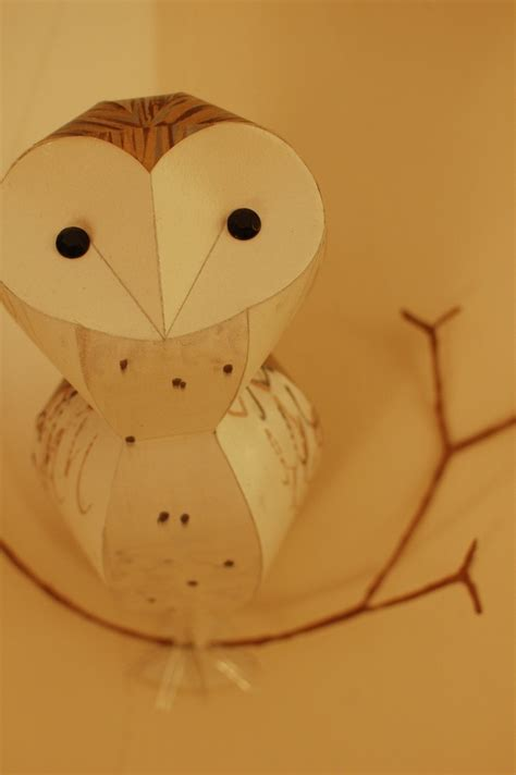 Canon Paper Craft Snowy Owl - 17 best images about winter animals on winter
