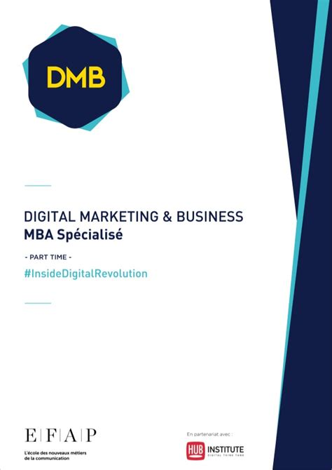 Mba Digital Media by Mba Digital Marketing Business Efap Part Time