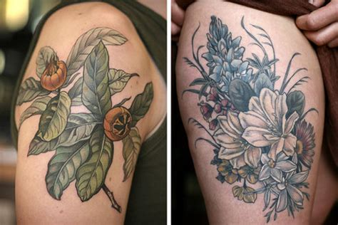 botanical tattoo artists drawing flower larkspur tattoos pictures www