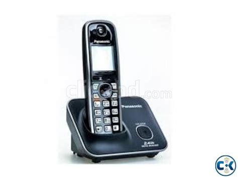 Telephone Wireless Panasonic Kx Tg3711bx Black panasonic tnt kx tg3711bx cordless phone clickbd