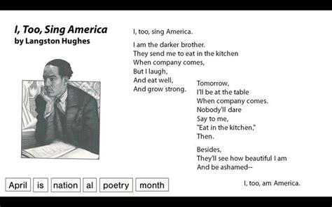 I Sing America Analysis Essay by 1000 Ideas About Poems By Langston Hughes On Langston Hughes Poems Langston Hughes