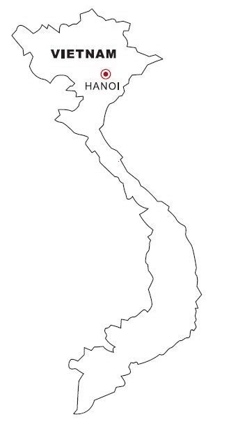vietnam map coloring page pdf coloring pages