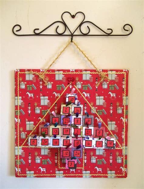 How To Make A Paper Calendar - things to make and do mini box advent calendar