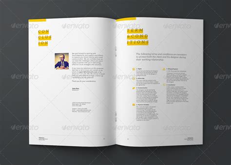 graphic design proposal layout graphic design project proposal template by codeid