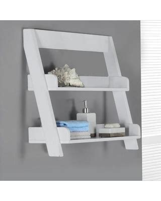 White Bathroom Wall Shelves by Perks Of White Wall Mounted Shelves Blogbeen