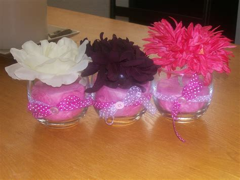 How To Make Silk Flower Arrangements In A Vase Craft Corner Baby Shower Centerpieces Jars Of Clay