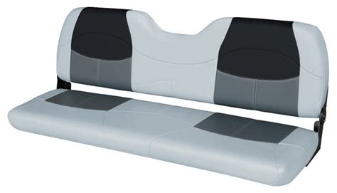 bass boat bench seats for sale blast off tour series 58 quot bench seat gray charcoal black