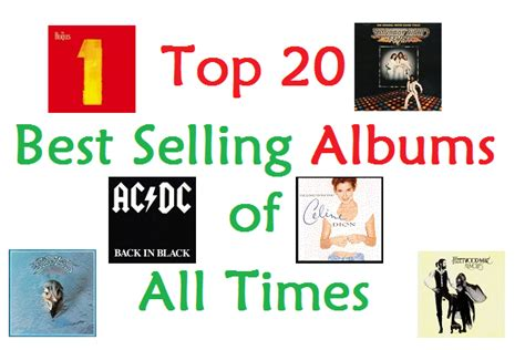 Bestselling Albums Of All Time Top 20 Best Selling Albums Of All Times Net Worth