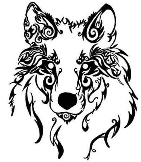 wolf kopf wolf tribal diese idee f 252 r einen wolf tribal