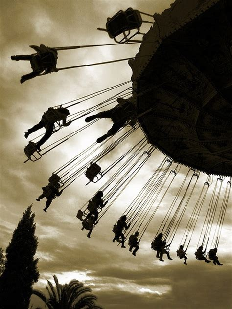 swings at tibidabo mountain 1878 best beautiful silhouettes images on pinterest