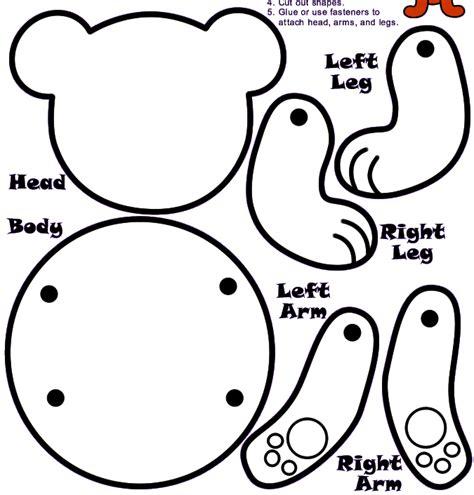 Bear Pattern For Kindergarten | bear pattern for the kids pinterest pre school