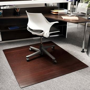 Office Chair Mat by Compare Office Chair Mats Bamboo Wood Laminate Or