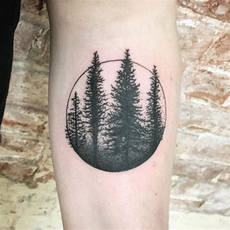 pine tree tattoo meaning 75 simple and easy pine tree designs meanings