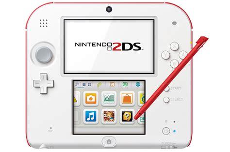 2ds console consoles 2ds nintendo 2ds blanc 3806677 darty