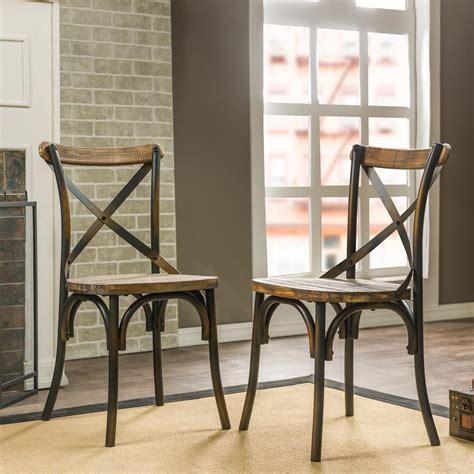 baxton studio dining chairs baxton studio konstanze medium brown finished wood dining