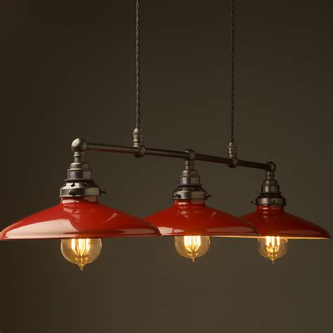 Table Pendant Lights Bronze Edison Billiard Table Pendant