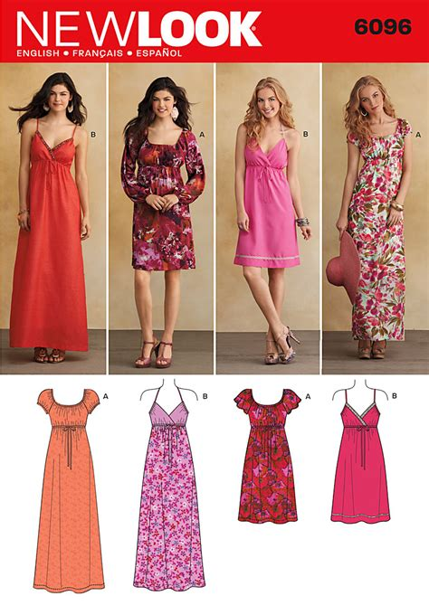 Dress Look new look 6096 dress