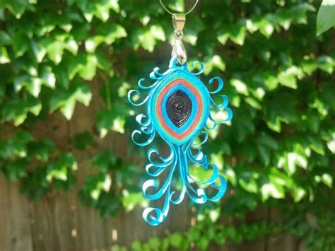 paper quilling peacock feather tutorial 17 best images about paper objects on pinterest paper