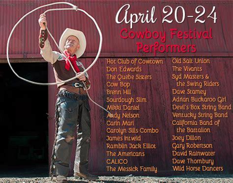 cowboy film festival scvnews com cowboy fest to feature dozens of