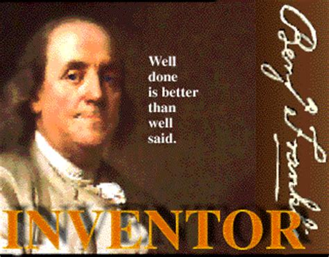 benjamin franklin biography and inventions hard a port al