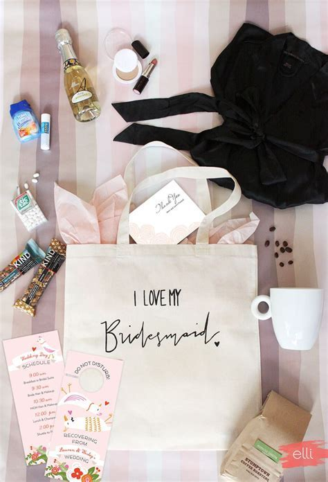 Bridesmaid Gift To Bride On Wedding Day