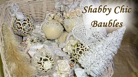 Diy Vintage Home Decor by Diy Altered Shabby Chic Vintage Christmas Baubles