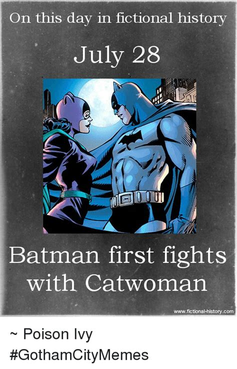 on this day in history on this day in fictional history july 28 batman first