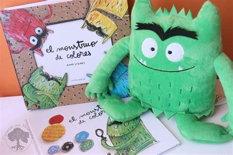libro el monstruo de colores el monstruo de colores libro rese 241 a actividades creciendo con montessori
