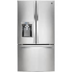 door refrigerator sears outlet kenmore elite 74023 29 8 cu ft door bottom