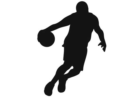 Brown And Orange Home Decor by Basketball Player 09 Wall Sticker Sports Vinyll Decoration