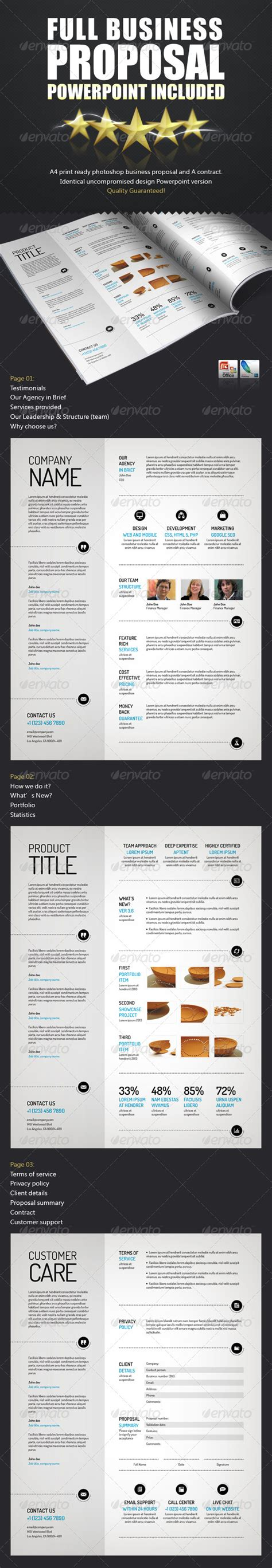 proposal layout psd spacious business proposal template pptx psd