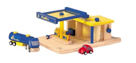 toy garages plan city gas station