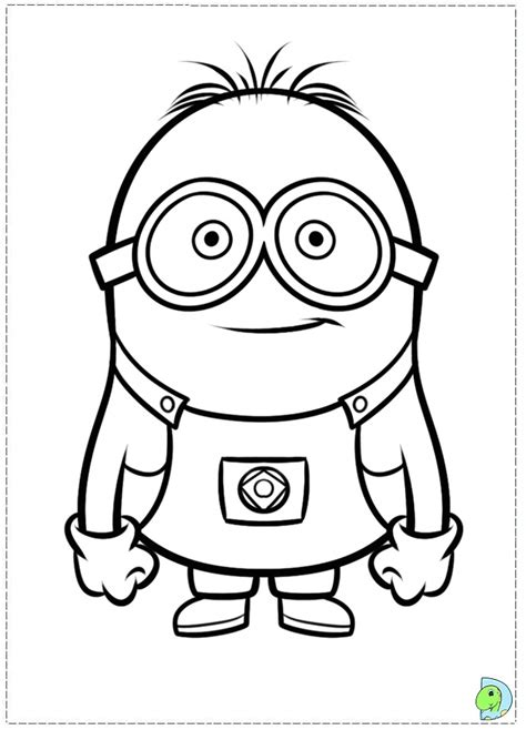 minion pictures to color free coloring pages of minions
