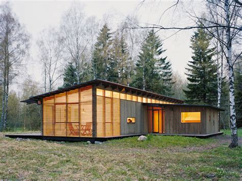 wood cabin house modern design homes modern log cabin