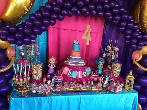 Shimmer and Shine Birthday Party Ideas   Photo 4 of 14