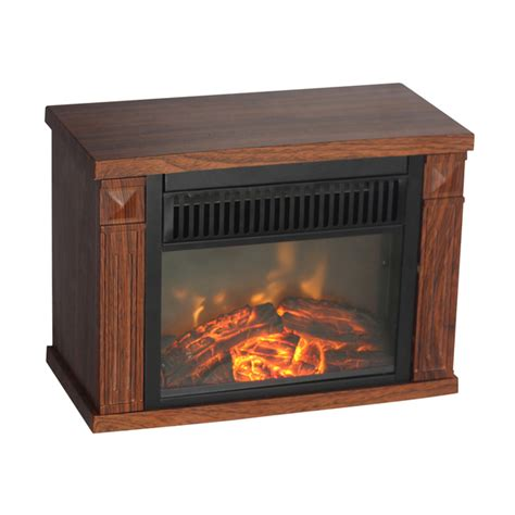 electric fireplace heater home depot mini bookcase honey oak wood stain light oak stain