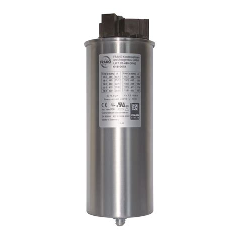 types of capacitors used in filters frako 3 phase capacitors allied industrial marketing