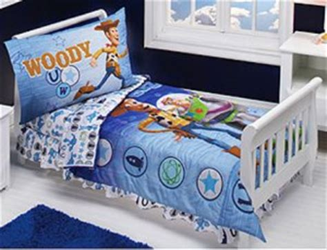 toy story toddler bedding toy story buzz and woody 4 piece toddler bedding set new
