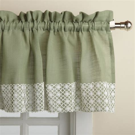 salem kitchen 60 quot curtain valance products pinterest