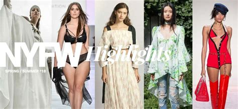 biggest trends of spring 2018 fashion magazine new york fashion week highlights trends for spring